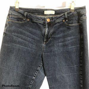 J Jill Jeans Slim Boyfriend Straight Leg Stretch